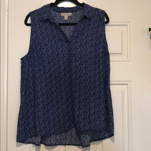 Dana Buchman sleeveless blouse
